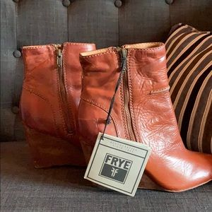 Frye Wedge Short Boot